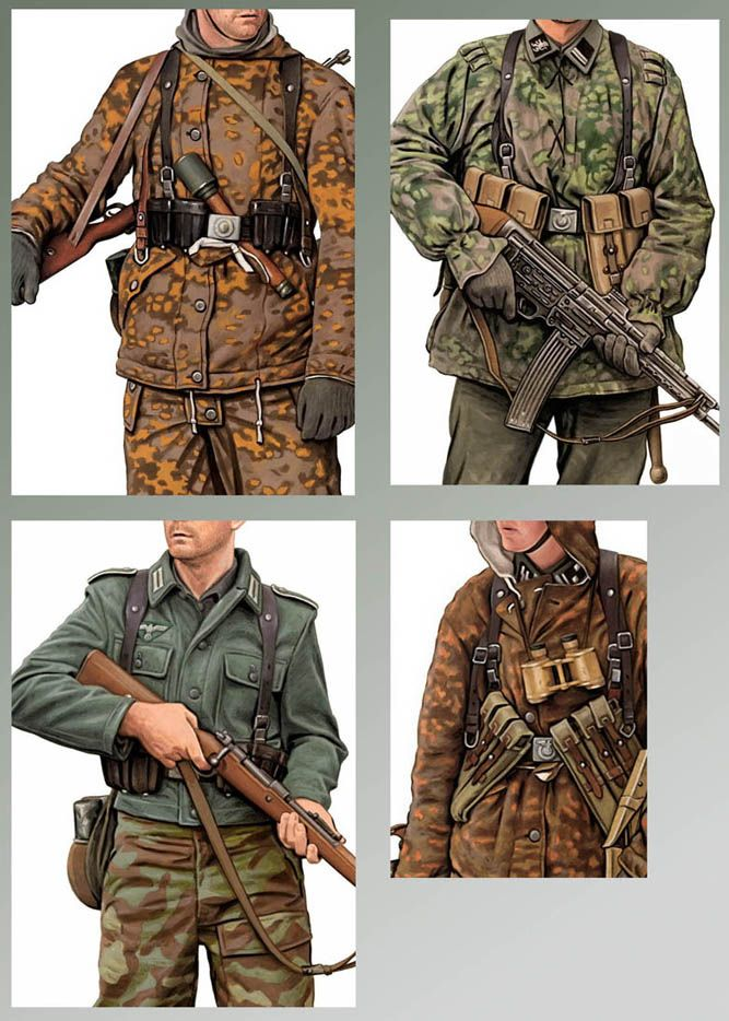 german camouflage uniforms ...