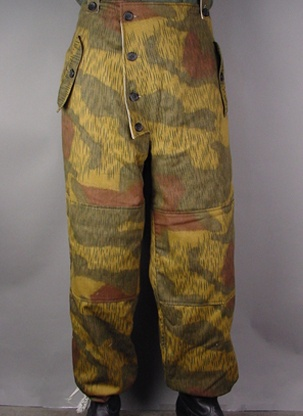 WW2 German Tan Water Camo Winter Trousers M | eBay