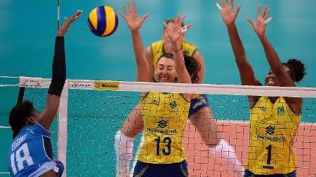 Brasil supera Itália de virada e estreia com vitória no Grand Prix de Vôlei - 09/06/2016 - UOL Olimpíadas