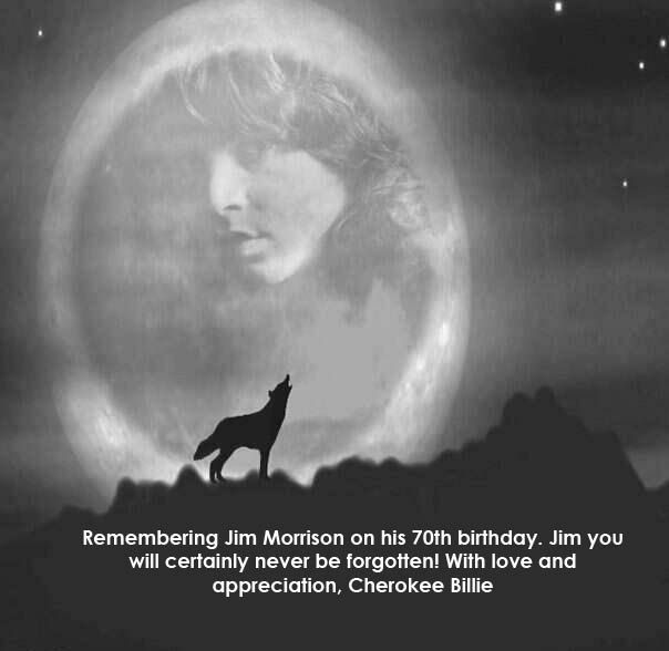 Jim Morrison's 70th birthday December 08, 2013. Click picture to read article.
