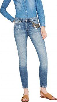Джинсы Pepe Jeans Pixie/Drifta PL2021132 26-32 Синие (8434341722611)