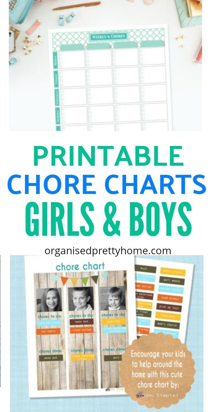 Get organized at home by the kids helping out with chores.  Check out what daily & weekly tasks my kids are learning to do for themselves. Bonus printable, editable or blank family chore chart ideas. by age | for teens | magnetic | template | childrens | for multiple kids #printable #chorechart #printablechorechart #getorganized #chores