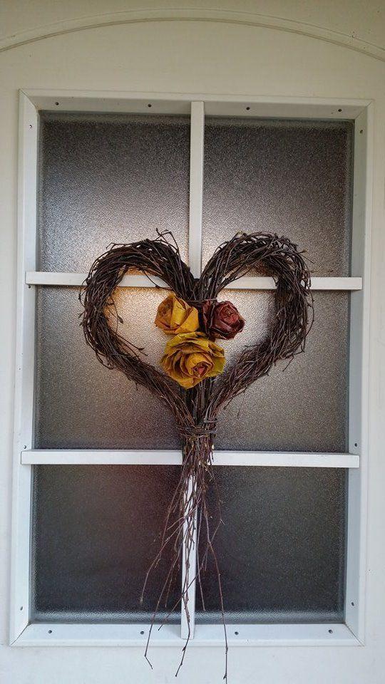 syksyinen ovikranssi - autum wreath