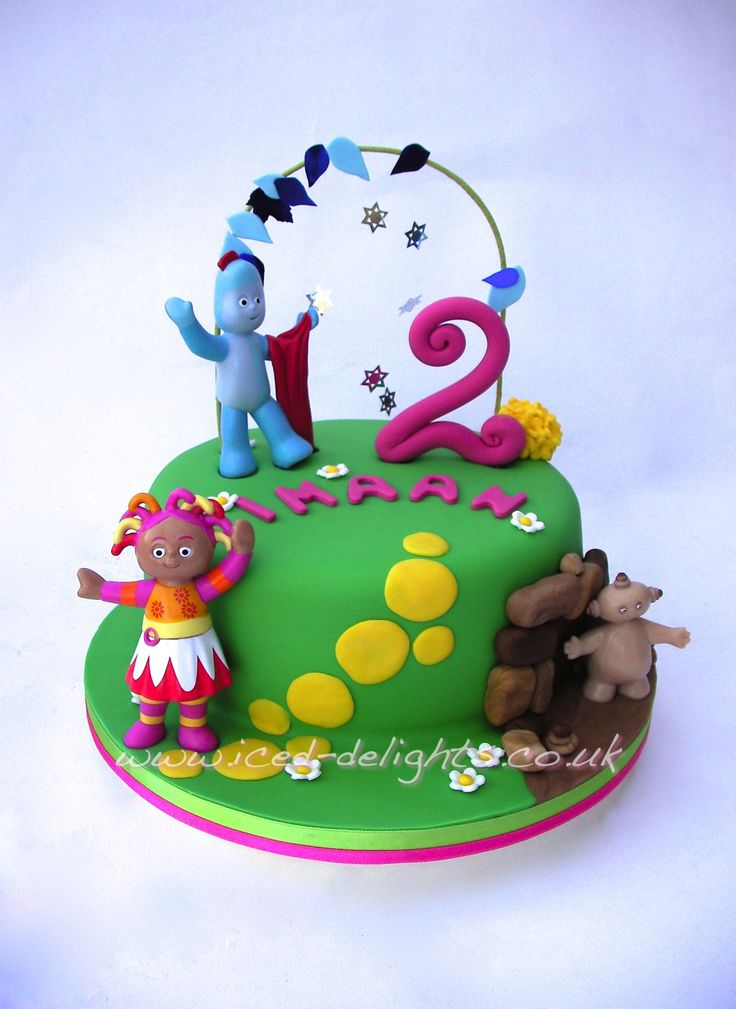 In the Night Garden Cake By www.iced-delights.co.uk Cheshire