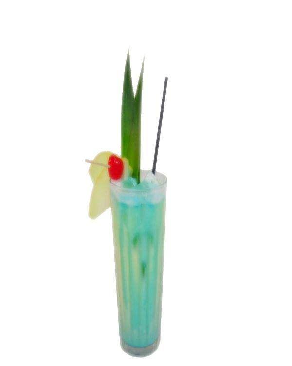 Der Swimming Pool Cocktail, der perfekte Sommerdrink. aus Cream of Coconut, blue Curacao, Ananas, Wodka, Rum und Sahne. Erstmals gemixt 1979 durch Charles Schumann. Das Cocktail Rezept, Videoanleitungen und weitere Infos findest du hier!