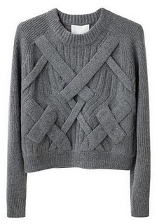 Want. Cropped sweater by Philip Lim.