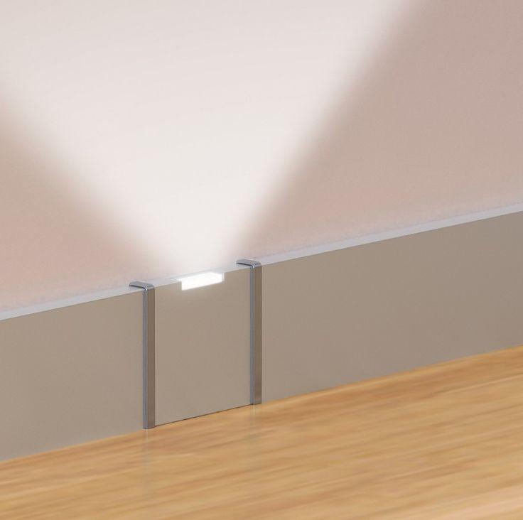 Battiscopa luminosi: Profilpas ha ideato un'innovativa linea di battiscopa con led, ideale per creare un'atmosfera unica e suggestiva.