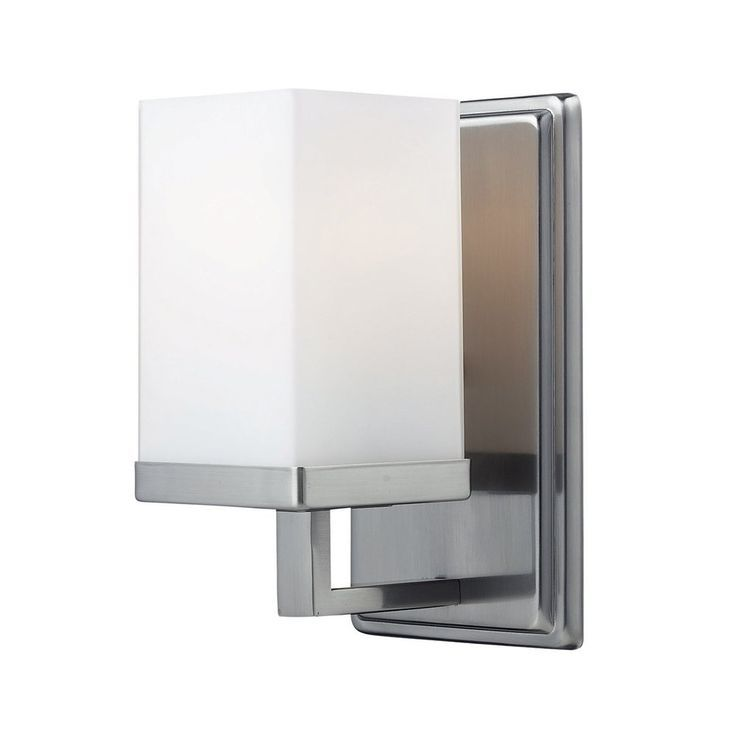 Bathroom Light Fixture With Outlet Plug My Web Value Contemporary Wall Sconces Sconces Z Lite