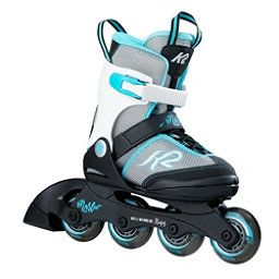 K2 Marlee Adjustable Girls Inline Skates 18 Silver Blue Girls Inline Skates Inline Skating Skate Girl