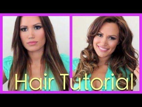 Hair Tutorial: How to get Gorgeous Curls with Hot Rollers - YouTube