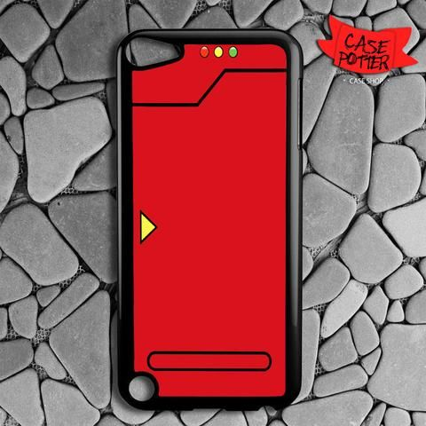 Red Pokedex Pokemon iPod 5 Black Case