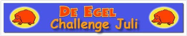 Hobbywinkel De Egel: Juli challenge # 37