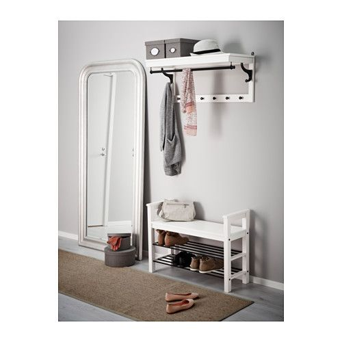 HEMNES Bench with shoe storage - white - IKEA 59.99