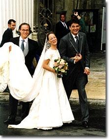 Huwelijk Prinses Margarita en Edwin de Roy van Zuydewijn 19 juni 2001
