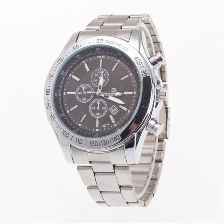 >> Click to Buy << 2017 Original Luxury Men's Business Day Watch Stainless Steel Belt Fashion Male Quartz Wrist Watch Relogio Masculino Gift #Affiliate