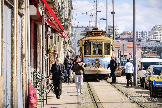 Tram 1, Porto