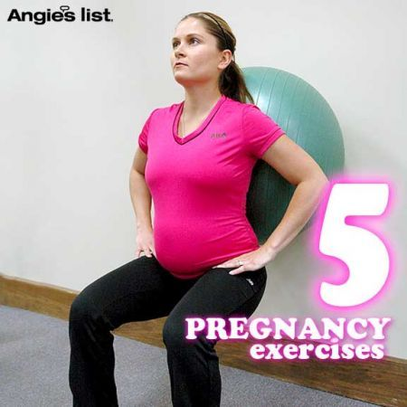 5 easy pregnancy exercises - good for you and good for the baby!