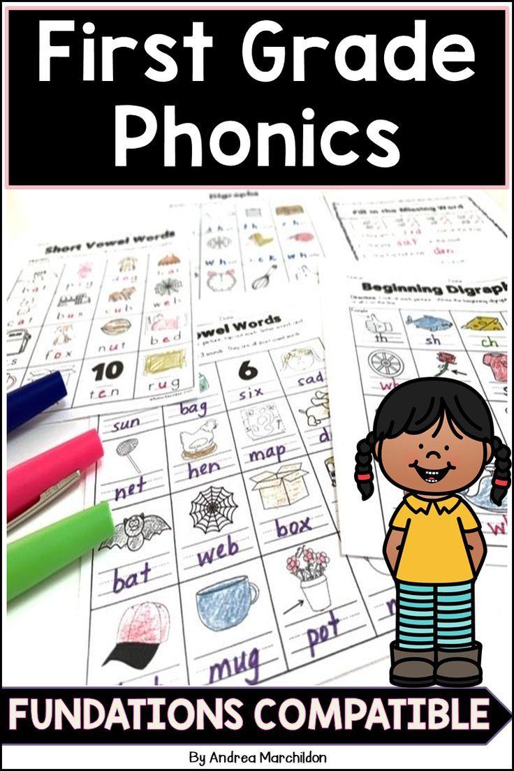 Fundations First Grade   Phonics practice [ 1104 x 736 Pixel ]