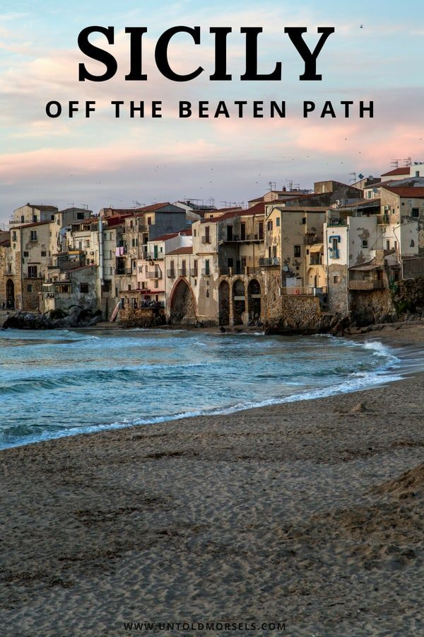 8 ways to discover Sicily off the beaten track