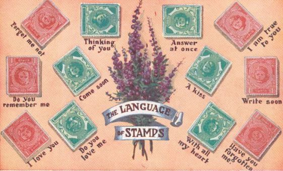 Stamp position and meanings