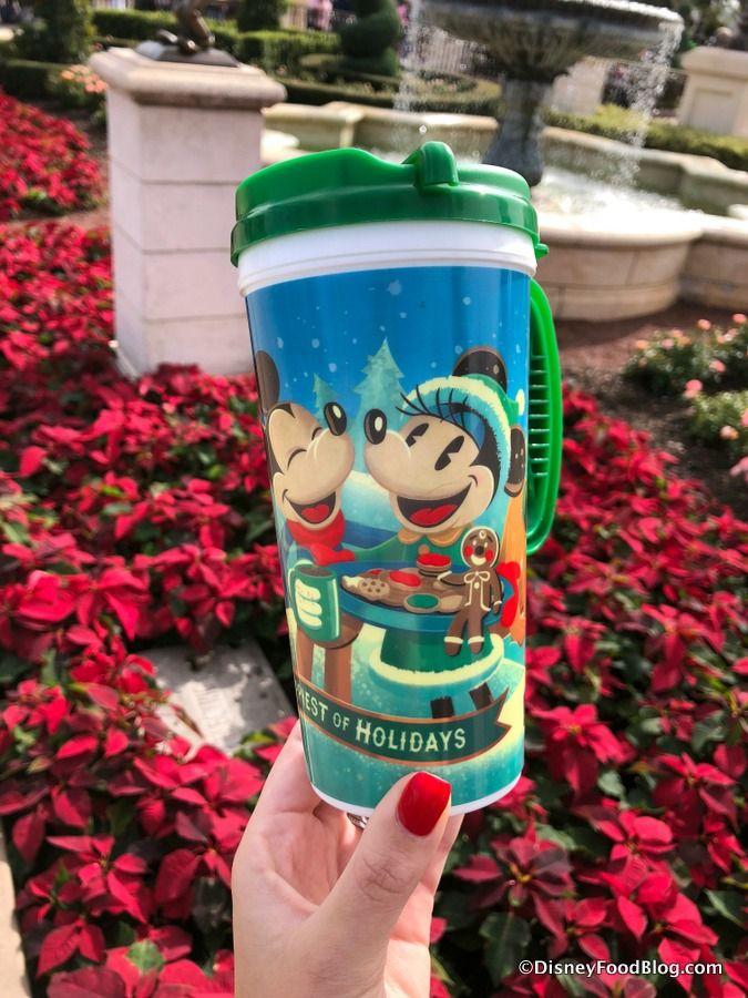 Adorable Holiday Hot Drink Souvenir Mug Is Back In Magic Kingdom The Disney Food Blog Holiday Hot Drinks Disney Food Blog Disney Holiday