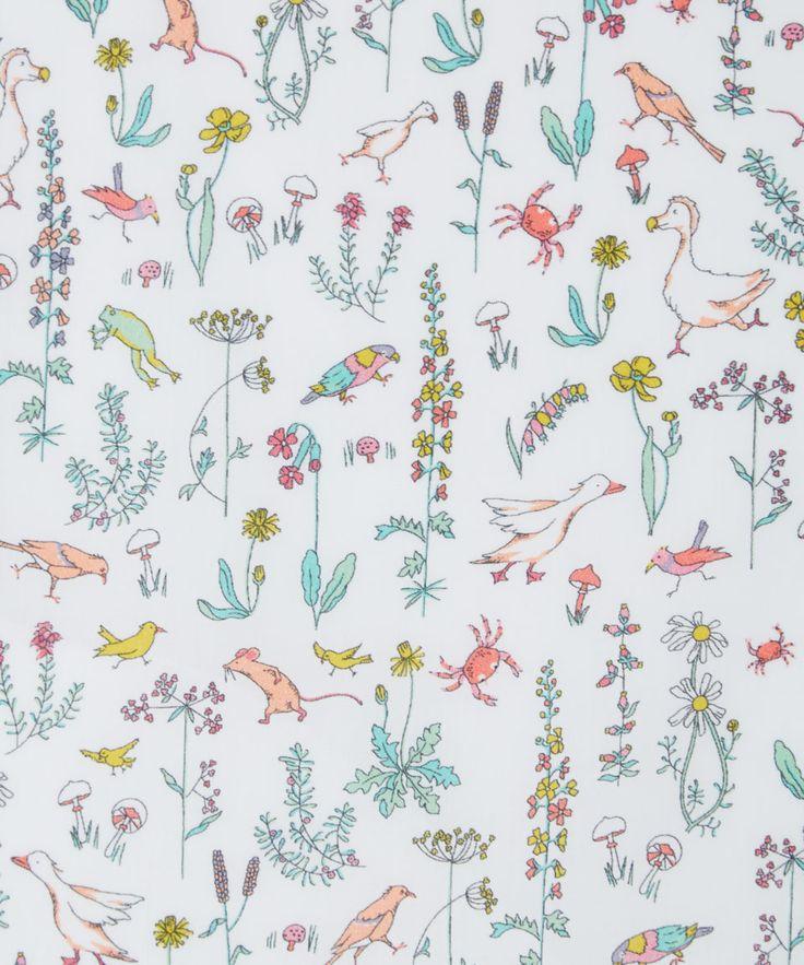Liberty Art Fabrics Theo C Tana Lawn Cotton | Home | Liberty.co.uk