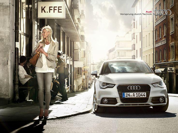 #AudiA1 #Sportback #Audi #A1 #white #bianca #city