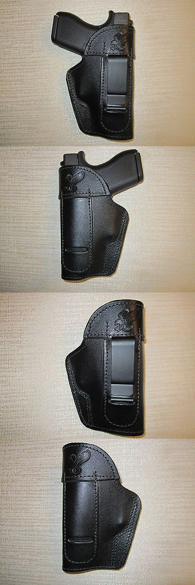 Holsters 177885: Glock 43 9Mm. Iwb,Owb,Sob Leather Ambidextrous Holster, Right Or Left Hand -> BUY IT NOW ONLY: $34 on eBay!