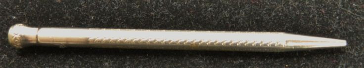 Vintage PAL Silver Tone Lead Pencil by COLLECTORSCENTER on Etsy
