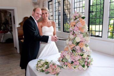 Pink Book Cakes | Crumb Cakes SA - Cape Town Wedding Cake - Pink Book