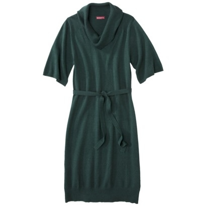 Merona® Women's Cowl Neck Sweater Dress w/Tie - Assorted Colors