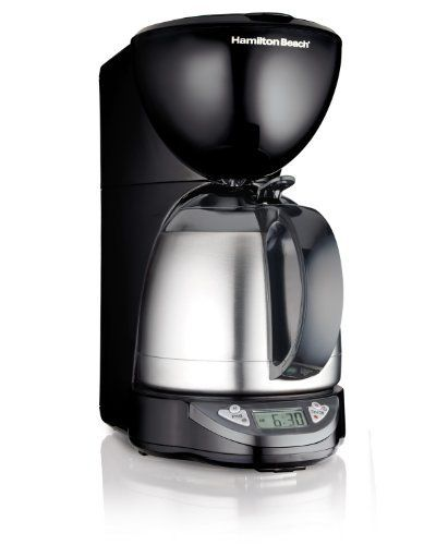 Hamilton Beach 10Cup Coffee Maker Programmable with Thermal Insulated Carafe 49854 >>> Visit the image link more details.