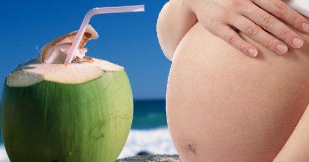 Mengurai Manfaat Air Kelapa Untuk Ibu Hamil (Dengan gambar) | Air ...