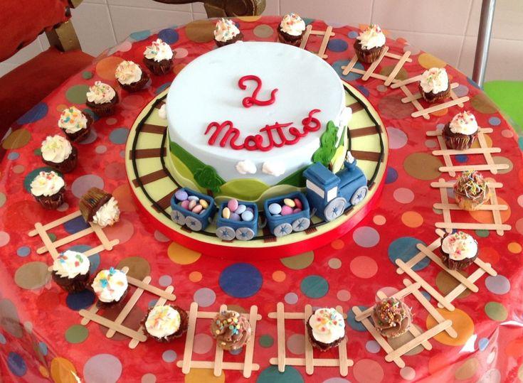 torta cupcake trenini