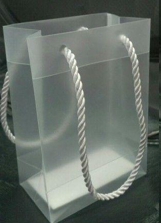40*30*10 cm limpar pvc saco de mão, saco de embalagem, saco caixa de presente sapatos de pano piece \ lote. Frete grátis
