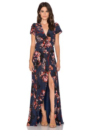 Claire Maxi Wrap Dress