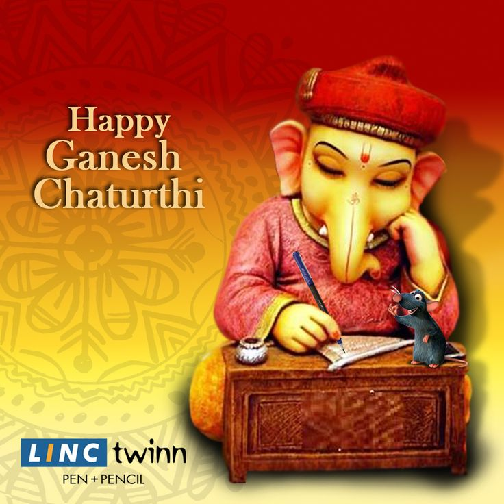 Lord Ganesh always won every battle with his profound wisdom. In the walk of life, may Siddhivinayaka hold your hand to make you write your bright and successful future. #HappyGaneshChaturthi #Wishes #LincPens #LincTwinn