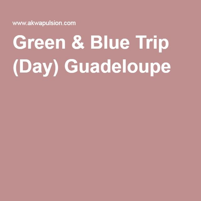 Green & Blue Trip (Day) Guadeloupe: 60€ per adult, bring your own lunch or 79€ per adult meal included.