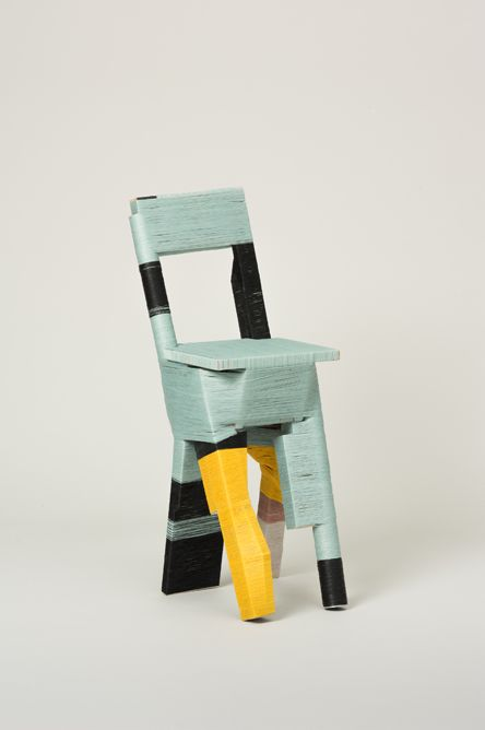 The Craft of Thread Wrapping - Anton Alvarez -- kind of looks like a chair that got in a car accident and had to get a cast on its leg...