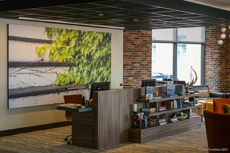 One of my photos hanging at the new Courtyard Marriott hotel.  photo by Corey Templeton #visitportland