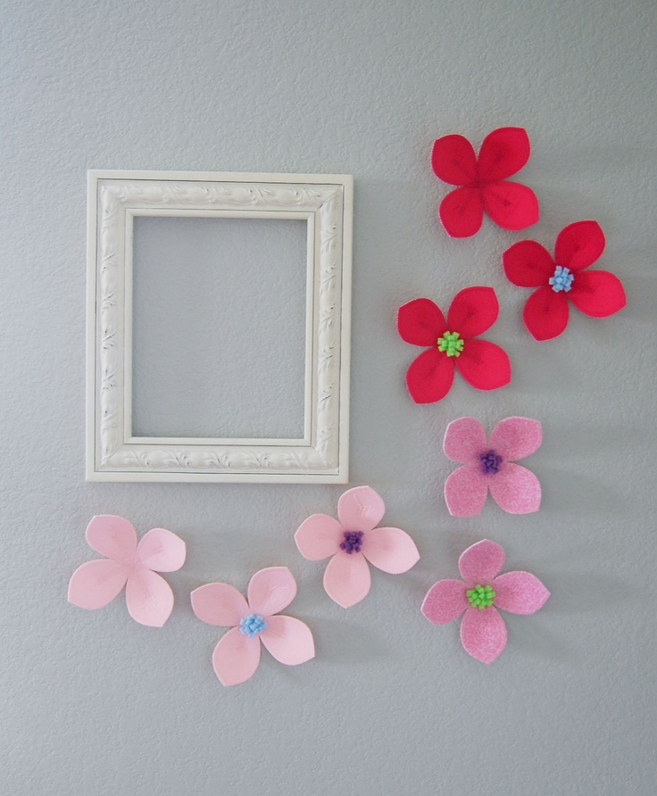 17 best images about wall hanging ideas on pinterest diy for Cadre floral mural