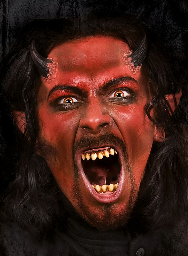 Dämon Make-up Schminkdose