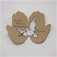 Peace on Earth Handprint Craft