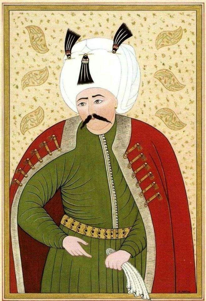 The Ottoman King Yavuz Sultan Selim (II. Selim)