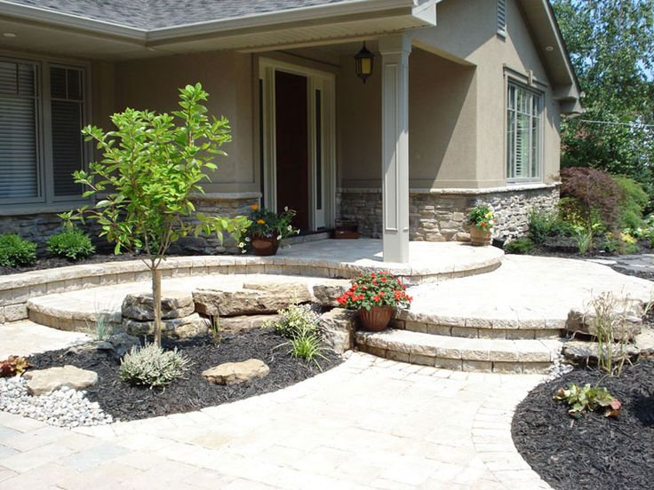 Beautiful and interesting front yard walkways and gardens always start with working with your designer. Talented designers can WOW your front yard in ways you have not thought of!