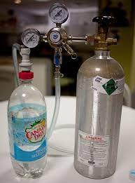 Resultado de imagen para Build a seltzer maker! Make your own carbonated water. Doesn't look too hard :)