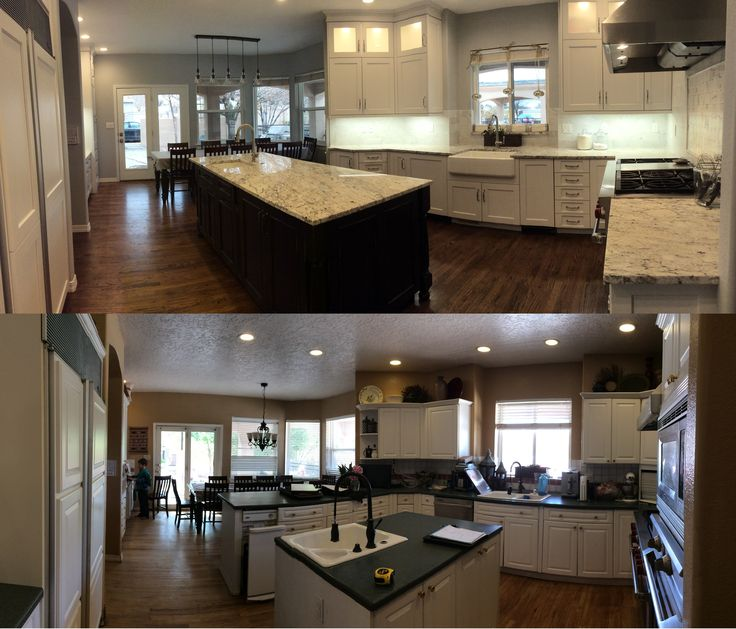 Before And After Kitchen By March Coan Designs In Albuquerque