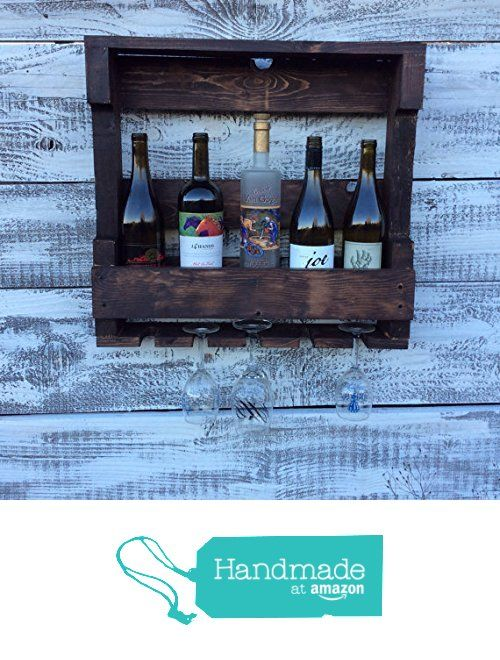 Rustic pallet wood wine rack from reclaimed oregon http for Reclaimed wood oregon