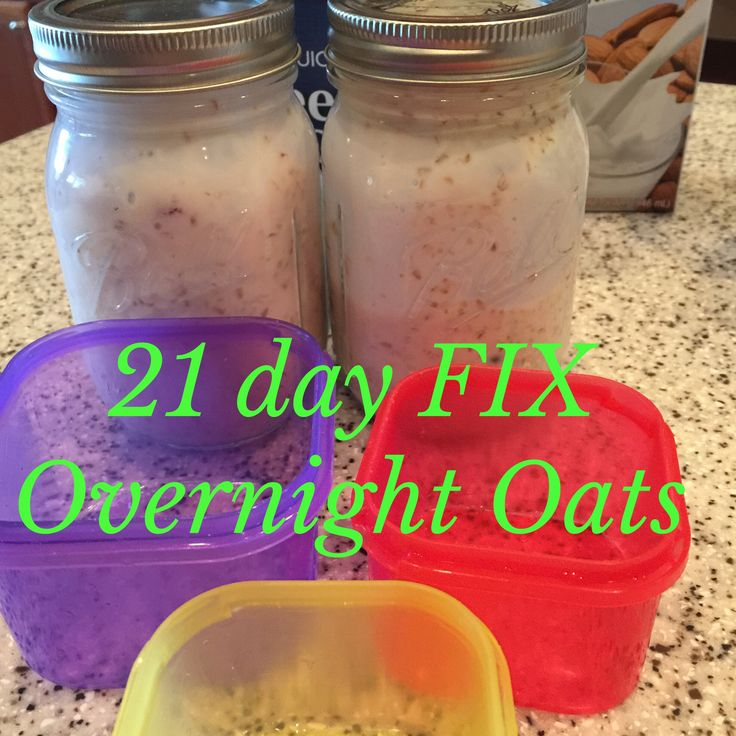 Overnight Oats - Lori Miggins Fitness - Fitness, Nutrition, Family and Organization