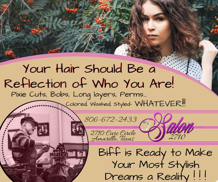 What does your hair say about you? What would you like your hair to say about you? Let Biff make your hair make the right statement! https://goo.gl/iSeKdU